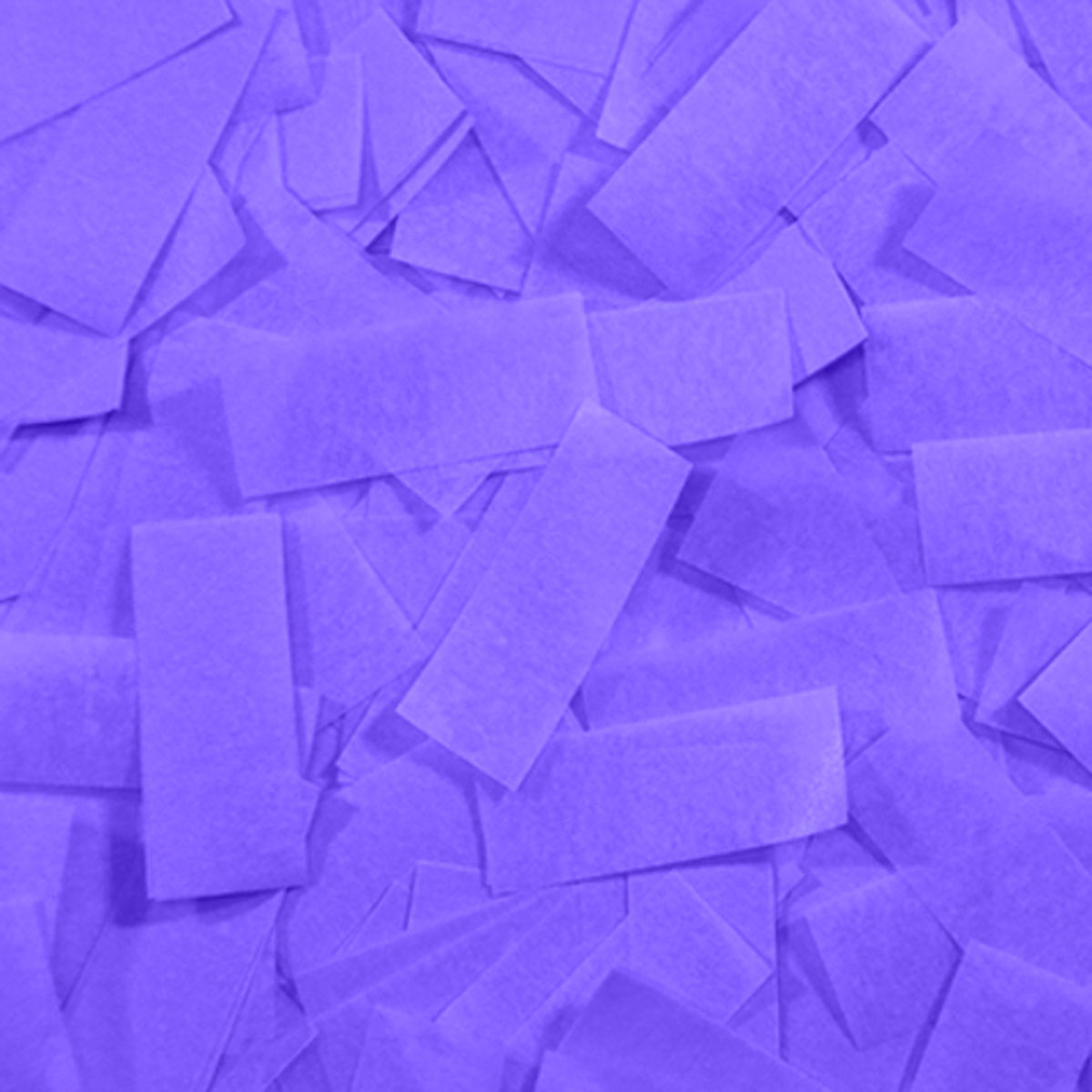 Бумага для шоу папиросная (тишью) Лайт Конфетти фиолетовая