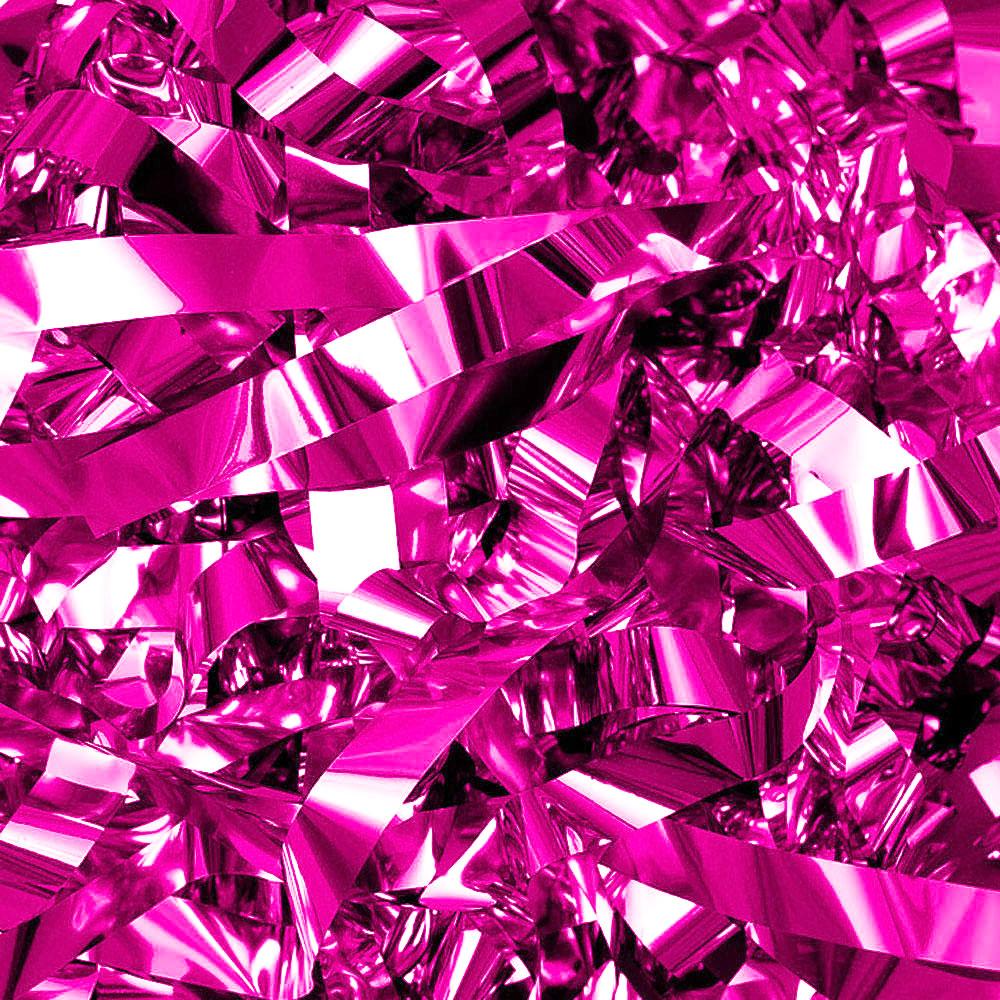 Бумага для шоу фольгированная цветная розовая